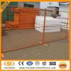 Temporary fence orange