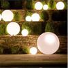 lighting beach ball/rotational moulding PE palstic led ball/rgb ball