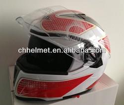 NEW flip up helmet with double visor