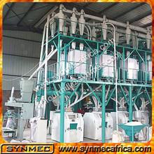 Multi Cereal Milling Machine, Grain Flour Milling Plant, 10ton-50ton Corn Processing Equipment