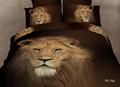 Lüks 100% pamuk reaktif baskılı ev tekstil nevresim levha takılmış yastık 3d yatak seti