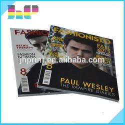 China professional high quality magazine printing house,high quality magazine printing