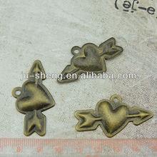 retro heart shape gift item ornament for cheap