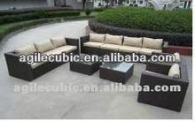 2012 new design patio rattan sofa set