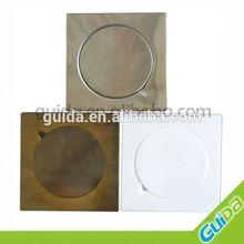 brass color drain floor ;size 20*20cm;15*15cm