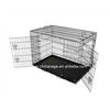 Metal dog cage 60*43*50cm,pet folding cage