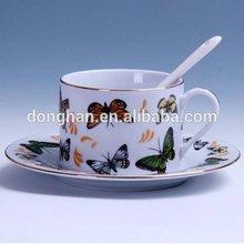 ceramic mug cup cover,bone china ceramic cup set,bone china coffee cup with saucer