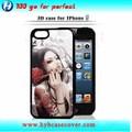 accesorios móviles al por mayor 3d sexo chica caja del teléfono móvil paraiphone5s