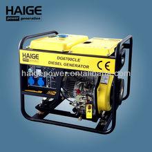 Open Type 3kw small electric Diesel Generators HAIGE power