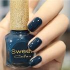 nail polish sweet color Classic Blue nail lacquer gel polish