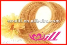 Large Stock Pretty 24 Inch Human Hair Extension Remy Human Hair Extension Pre-bonded Hair Extensions Silky Straight
