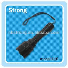 small batch Germany short optical lens led tactical flashlight