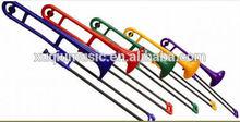 di plastica colorata xtb1001 rosso giallo trombone