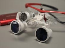 2.5X & 3.5X dental eye loupes/Binocular surgical loups with portable Led headlight YYJD01