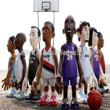 oem toy basketball player figures/basketball figure maker/basketball player figure toy