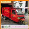 lifan trike motorcycle water cooled 3 wheel cargo truck price/dump truck for sale