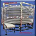 Espiral única congelador con área pequeña necesaria y de gran capacidad y estructura compacta
