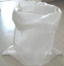 White Transparent Plain PP Woven Bag