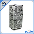 MLD-T105 4 in1 assembling aluminum trolley case carrying cosmetics case