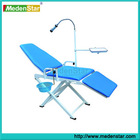 2014 Top sale portable dental chair with operating light,spittoon & instrument tray YS05AA