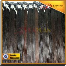 100% natural color dyable 26inch 100% human hair extension popular virgin brazilian hair bundles