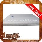 Zipper design vacuum packed true sleeper memory foam mattress