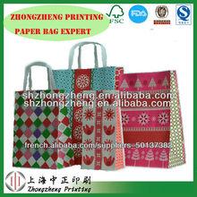 manufacturer paper shopping bag, paper carry bag, paper take away bag