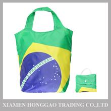 Brazilian Flag Foldable Eco Shopping Bag