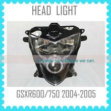 head light lamp For SUZUKI GSXR600 GSXR750 K4 2004 2005 motorcycle headlight headlamp