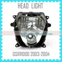 Low Price Quality Motorcycle Headlight Headlamp for SUZUKI GSXR1000 K3 2003 2004 03 04 head light lamp