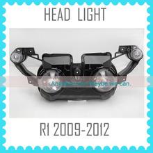 factory motorcycle Headlight headlamp for YAMAHA R1 2009 2010 2011 2012 09 10 11 12 head light lamp