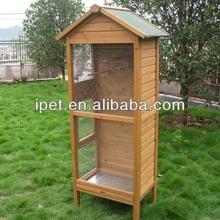 Wooden wholesale bird breeding cages with run AV004S