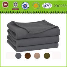 100% polyester soft wool foil emergency blanket