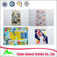 custom linen or cotton printed kitchen towels/tea towels manufacturer