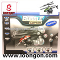Loongon 3.5 canal infravermelho de controle de sopro de bolhas helicóptero de controle remoto