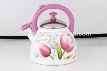 Popular 2.2L Whistling Enamel Tea Kettle