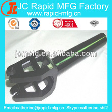 China CNC machining billet aluminum scooter fork bicycle forks anodized, Skate Scooter Parts