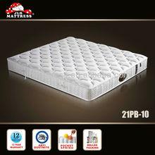 High class comfortable thin mattress jumbo mattress 21PB-10