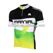 100%polyester unisex tight cycling jersey