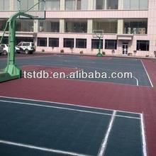 outdoor interlock basketball flooring