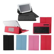 For HP Slate 7 Tablet Removable Wireless Bluetooth Keyboard Leather Case Cover