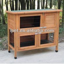 Wooden custom rabbit hutch RH019S