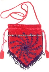 LADIES FASHION BEADED BAGS, TABLET BAGS, BEACH BAGS