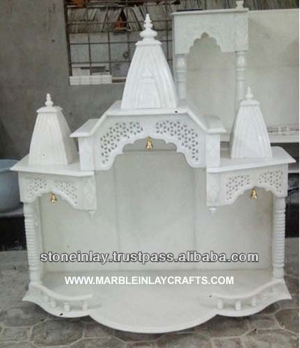 Marble temple designs for for Home mandir designs marble