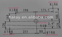 Chinese LIFAN ZONGSHEN UTV500/600/650 CC Motorcycle Engine