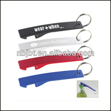 Promotion Gift Itme Cheap Custom Metal Bottle opener Keychain