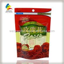dried food packaging bag,rose flavor