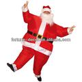 200cm hoch aufblasbarer weihnachtsmann kostüm für party