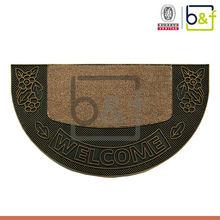 Best seller hard bottom outdoor polypropylene pvc injection carpet
