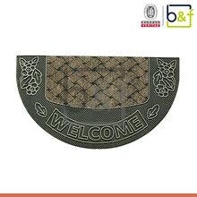 Factory semicircle polypropylene surface inject area rug